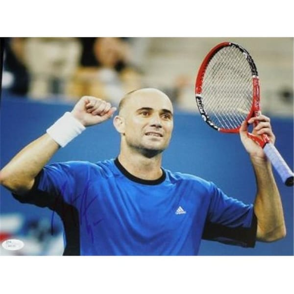 116032cfd7f24f Shop Andre Agassi Signed - Autographed Tennis 11 x 14 in. Photo - JSA -  Free Shipping Today - - 23756487