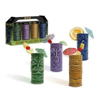 Accoutrements 4 Tiki Tumblers Ceramic Hawaiian Luau Party Mugs Glasses https://ak1.ostkcdn.com/images/products/is/images/direct/34b33429a274a7fdc04e4d9451ad98ebbc620928/Accoutrements-4-Tiki-Tumblers-Ceramic-Hawaiian-Luau-Party-Mugs-Glasses.jpg?impolicy=medium