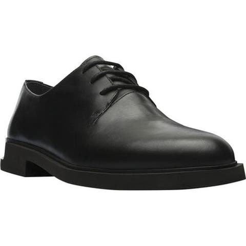 Camper Women's Iman Oxford Black Smooth Leather