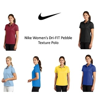 Link to Nike Women's DRI-FIT Pebble Texture Polo Similar Items in Golf Clothing
