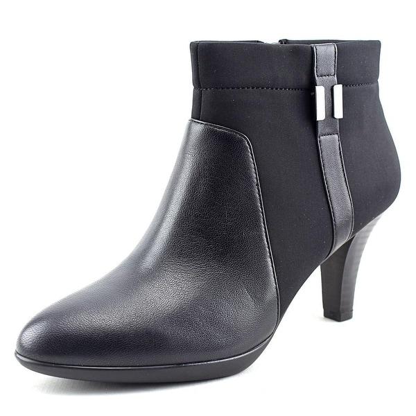 Alfani Venah Round Toe Canvas Ankle Boot
