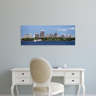 Easy Art Prints Panoramic Images's 'Boston MA' Premium Canvas Art