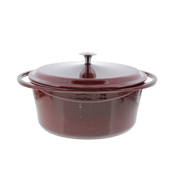 La Maison Casserole Pan Cast Iron Oval