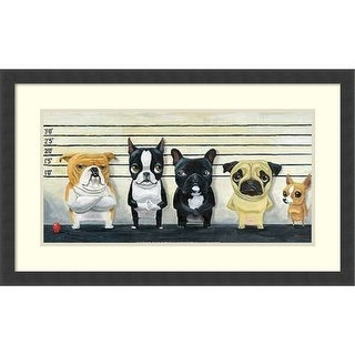 Link to Framed Art Print 'The Lineup' by Brian Rubenacker 31 x 19-inch Similar Items in Art Prints