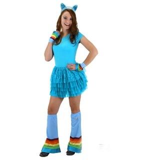 My Little Pony Rainbow Dash Adult Costume Headband - Blue