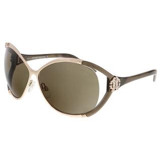 Roberto Cavalli RC855S CELAENO 772 Gold Wrap Sunglasses