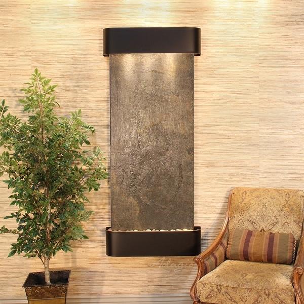 Adagio Inspiration Falls Fountain - Round - Blackened Copper - Choose Options