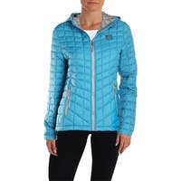 Reebok Womens Glacier Shield Packable Coat Fall Quilted