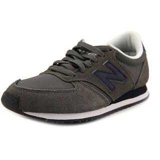 New Balance U420 Youth Leather Gray Fashion Sneakers