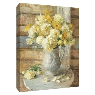 """PTM Images 9-154555  PTM Canvas Collection 10"""" x 8"""" - """"From the Garden"""" Giclee Flowers Art Print on Canvas"""