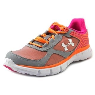 Under Armour GPS Velocity RN Youth Round Toe Synthetic Multi Color Running Shoe