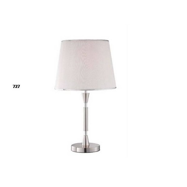 "29"" Silver Finish Stick Table Lamp"