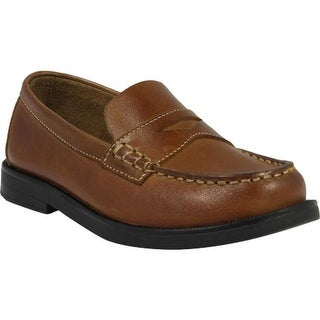 Florsheim Boys' Croquet Penny Jr. Saddle Tan Leather