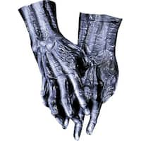 Hands Skeleton Black Costume Gloves