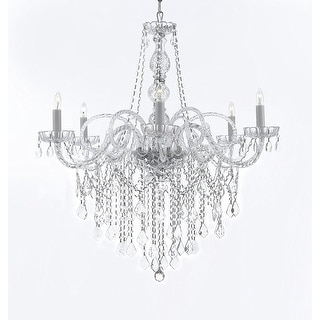 ALL-CRYSTAL CHANDELIER