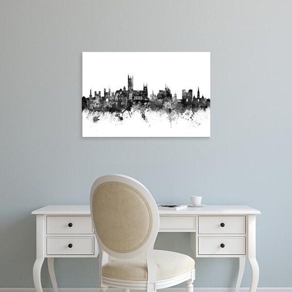 Easy Art Prints Michael Tompsett's 'Canterbury England Skyline' Premium Canvas Art