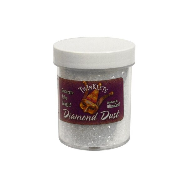 Floracraft Twinklets Diamond Dust 6oz