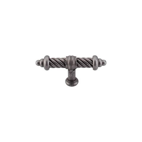 "Top Knobs M628 Twist 3-5/8"" Long Bar Cabinet Knob from the Normandy Series -"