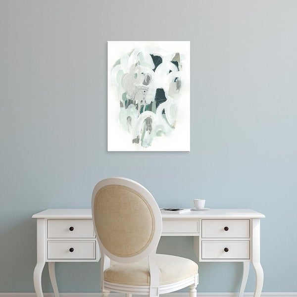 Easy Art Prints June Erica Vess's 'Sage & Slate II' Premium Canvas Art