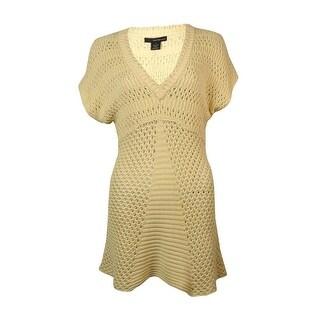 Calvin Klein Women's Short-sleeve Knit Sweater