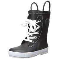 Western Chief Kids' Girls' Waterproof Easy-on Printed Rain Pull-on Boot