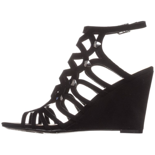 Bar III Womens Lania Open Toe Casual Platform Sandals