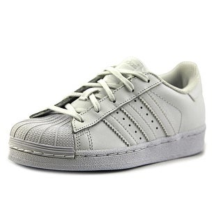 Adidas Superstar Foundation C   Round Toe Synthetic  Sneakers
