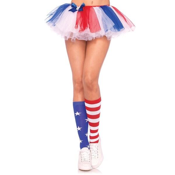 e5059bd7d Shop Stars And Stripes Knee High Socks