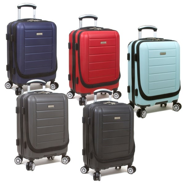 Laptop Spinner Carry-on Upright Luggage. Opens flyout.