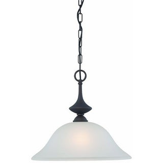 Thomas Lighting 190059763 Holly 1-Light Pendant Fixture, Painted Bronze - painted bronze