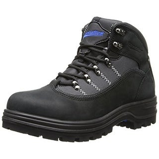 Blundstone Mens Leather Steel Toe Work Boots - 12