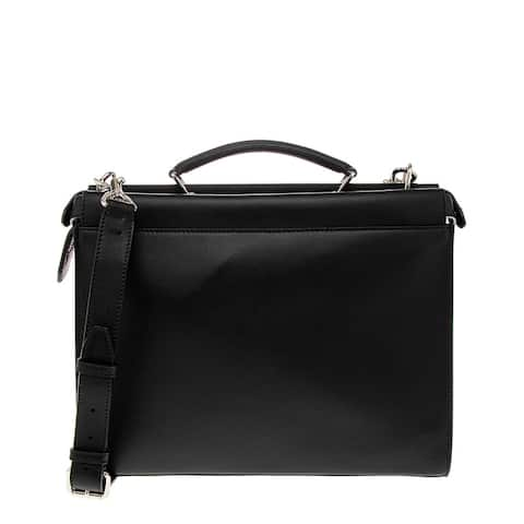 Fendi Peekaboo Iconic Fit Leather Briefcase