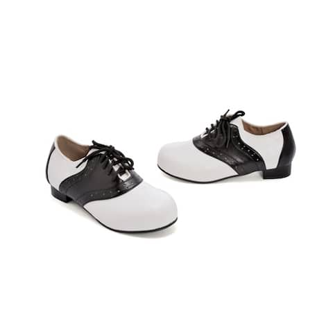 Kids Halloween 50's Saddle Shoes