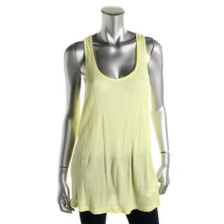 Zara Trafaluc Womens Ribbed Knit Racerback Tank Top