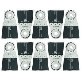 """Fein 63502207290 Bi-Metal Double Row Japanese Tooth Saw Blades, 2"""", 10/Pack"""