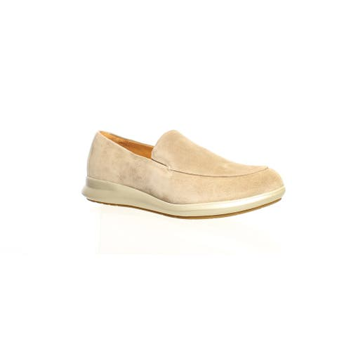 Samuel Hubbard Womens Freedom First Tan Loafers Size 7