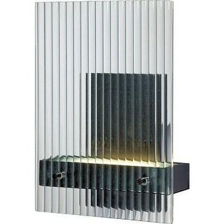 Nuvo Lighting 62/117 Bin 1 Light LED Vanity Light ADA Compliant - textured black
