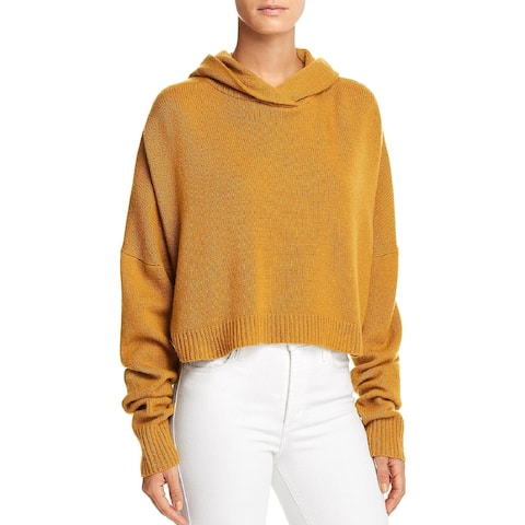 Theory Womens Hoodie Cashmere Crop