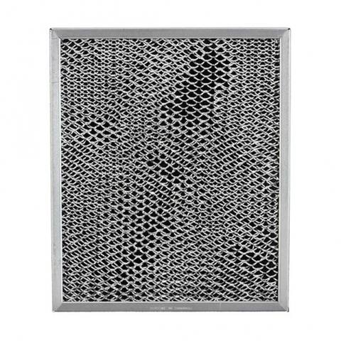 "Broan BP56 Duct-Free Replacement Aluminum Range Hood Filter, 8"" x 9.5"""