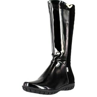 Venettini Girls Destiny Tall Elastic 50 50 Fifty Fifty Designer Boots