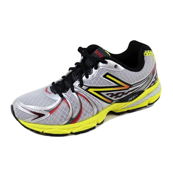 New Balance Men's 870 Silver/Yellow-Red M870SY2