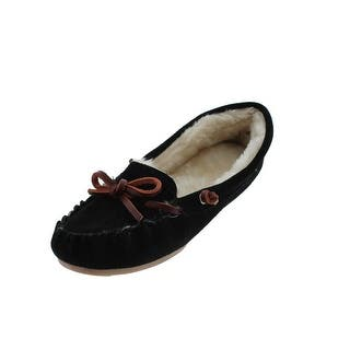 G.H. Bass & Co. Womens Moccasin Slippers Suede Indoor/Outdoor|https://ak1.ostkcdn.com/images/products/is/images/direct/34ce698f0db7abb29677b40580f4b7a6c706355a/G.H.-Bass-%26-Co.-Womens-Suede-Indoor-Outdoor-Moccasin-Slippers.jpg?impolicy=medium