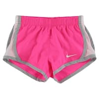 Nike Baby Girls Tempo Active Shorts Hot Pink - hot pink/white/grey