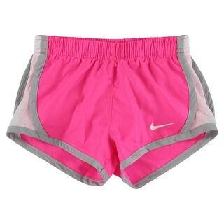 Nike Baby Girls Tempo Active Shorts Hot Pink - hot pink/white/grey