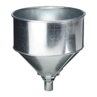 Plews 75-008 Tractor Lock Funnel, Galvanized Steel, 8 Quart