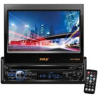 """Pyle(R) PLTS78DUB 7"""" Single-DIN In-Dash DVD Receiver with Motorized Fold-out Touchscreen & Bluetooth(R)"""