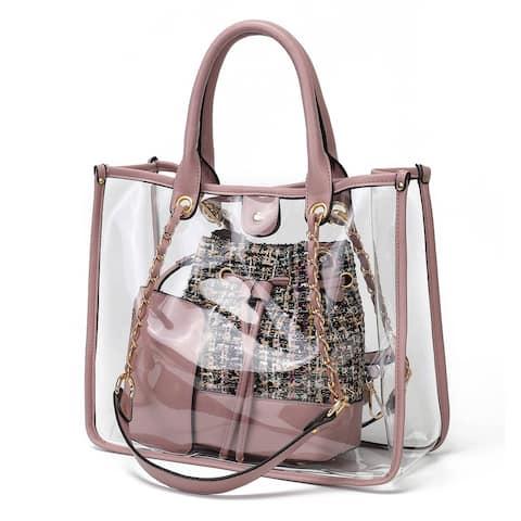MKF Collection Diva PVC Tote Bag by Mia K.