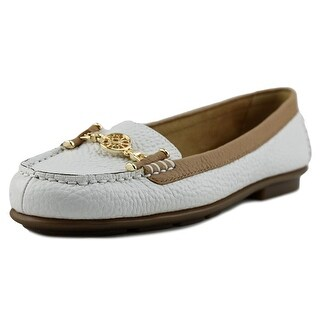 Aerosoles Nuwlywed Women Round Toe Leather White Loafer