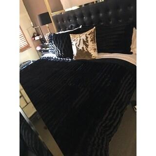 Carbon Loft Hammond Faux Fur Comforter Mini Set