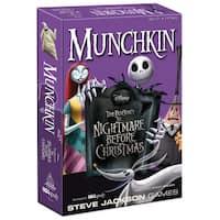 Munchkin USAOPOLY  Munchkin Nightmare Before Christmas Edition